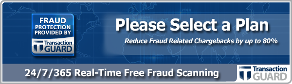 Select Your Fraud Prevention Plan